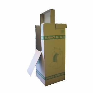 Scatola trasloco portabiti h 150 x l 50 x p 50 cm for Casseforti leroy merlin